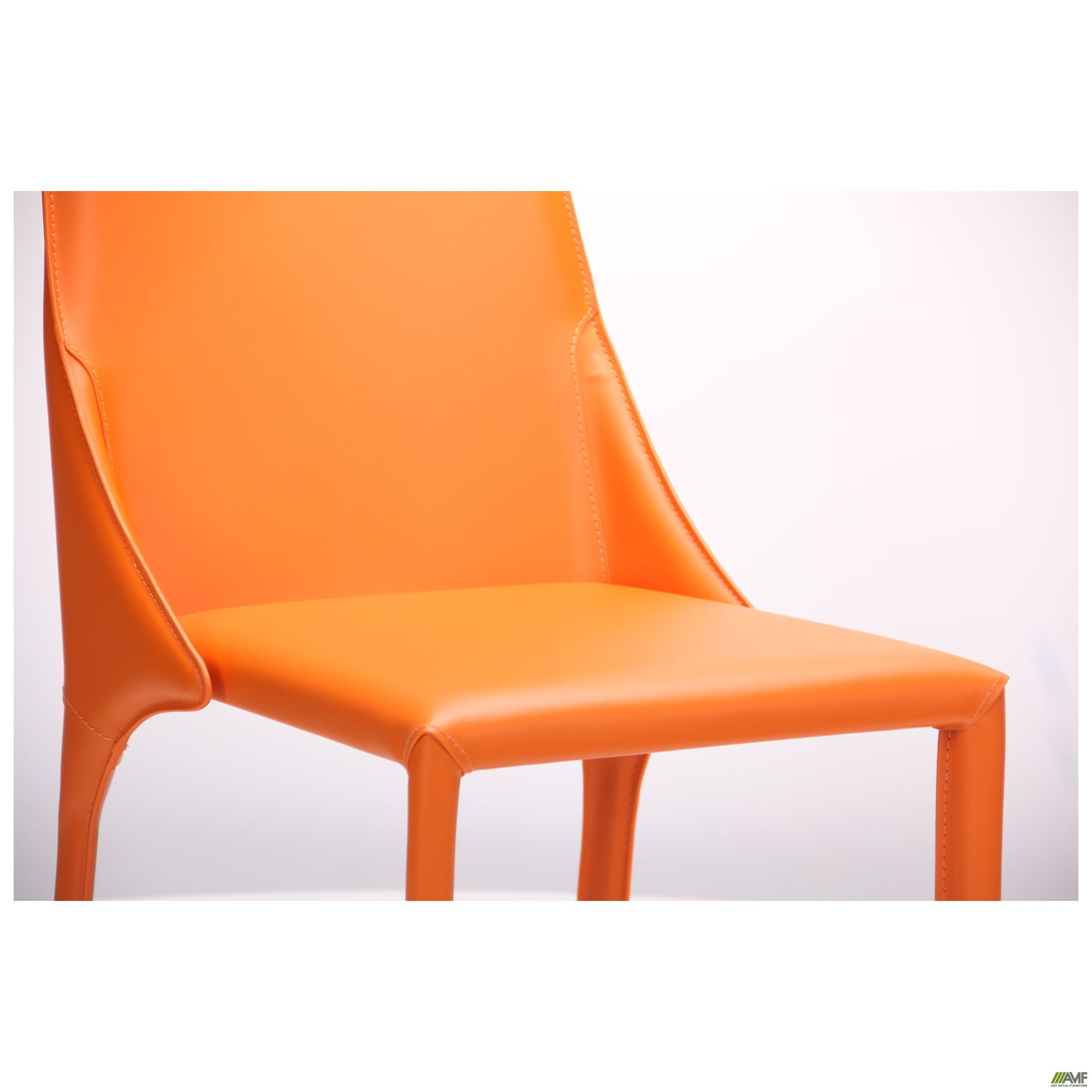 Фото 9 - Стул Artisan orange leather