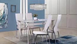Обеденный комплект стол B312 + стулья Картер