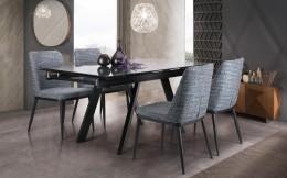 Обеденный комплект стол Андалусия + стулья Витторио Бирюза