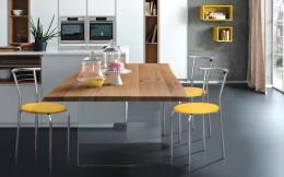 Комплект кухонных стульев Маркос Хром Неаполь-55