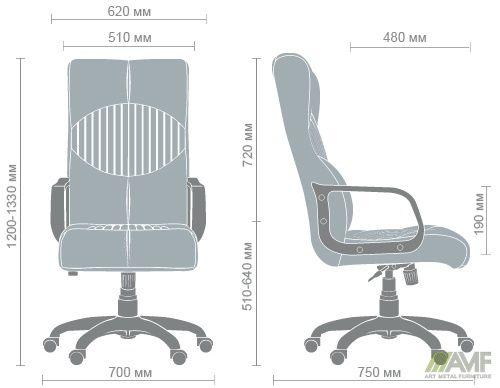 Характеристики Кресло Геркулес Пластик Софт Неаполь N-20