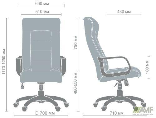 Характеристики Кресло Роял Пластик Неаполь N-20
