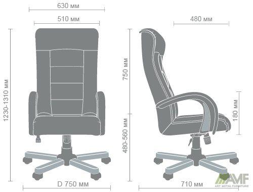Характеристики Кресло Роял Люкс вишня Неаполь N-20
