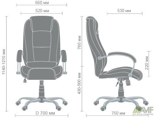 Характеристики Кресло Надир Лайн Tilt Неаполь N-20