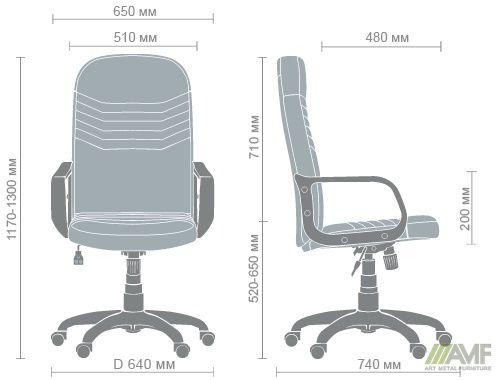 Характеристики Кресло Стар Пластик Неаполь N-17