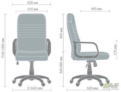 Характеристики Кресло Чинция Пластик Неаполь N-24