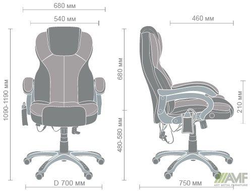 Характеристики Кресло массажное Малибу (KD-DO8074)