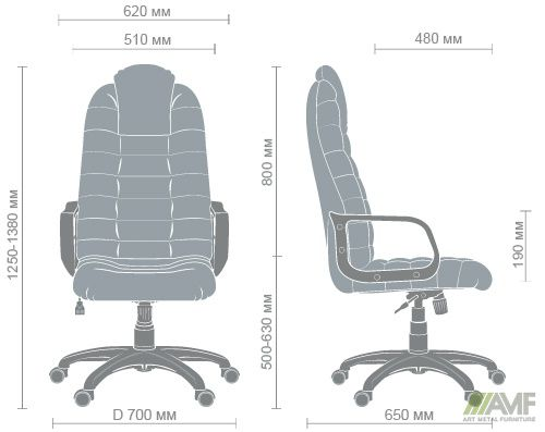 Характеристики Кресло Тунис Пластик Неаполь N-16