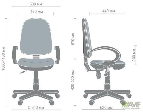 Характеристики Кресло Меркурий 50 FS/АМФ-5 А-01