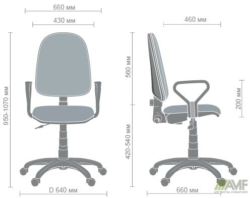 Характеристики Кресло Престиж-М 50/АМФ-1 А-50