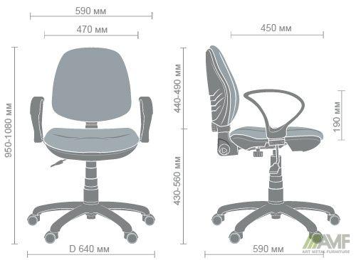 Характеристики Кресло Спринт LB/АМФ-4 А-01