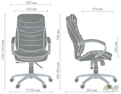 Характеристики Кресло Валенсия HB Механизм ANYFIX Неаполь N-16