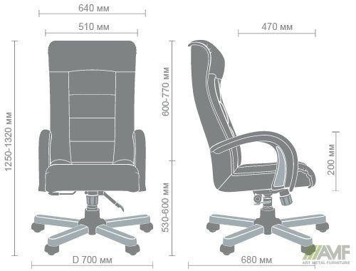 Характеристики Кресло Роял Люкс Механизм ANYFIX вишня Неаполь N-17