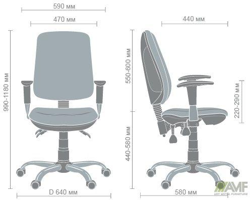 Характеристики Кресло Регби MF Chrome А-01