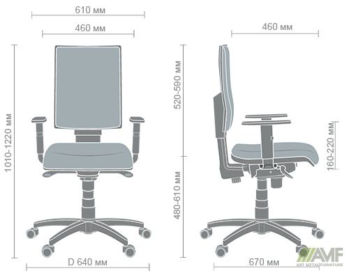 Характеристики Кресло Маск HB Квадро-02