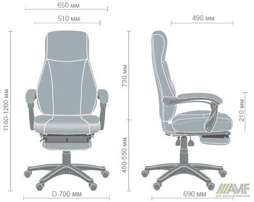 Характеристики Кресло Smart серый