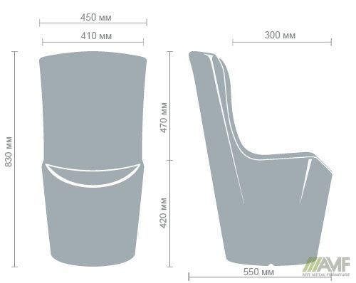 Характеристики Стул барный Ray (YXF-5480)