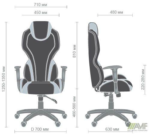 Характеристики Кресло VR Racer Zeus черный, PU черный/зеленый