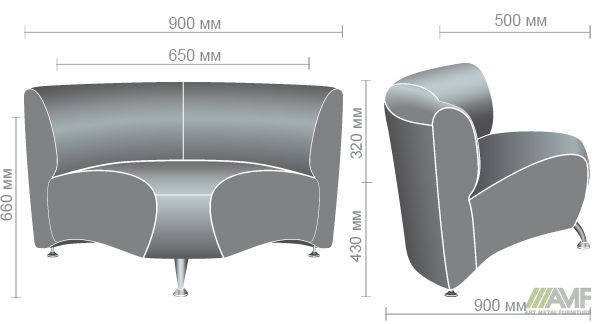 Характеристики Диван Каролина угловой модуль Неаполь N-20