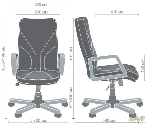 Характеристики Кресло Менеджер Вуд бук Неаполь N-20