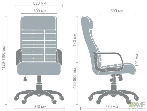 Характеристики Кресло Атлетик Пластик-М Неаполь N-20