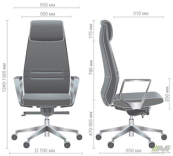 Характеристики Кресло Larry HB Light Grey