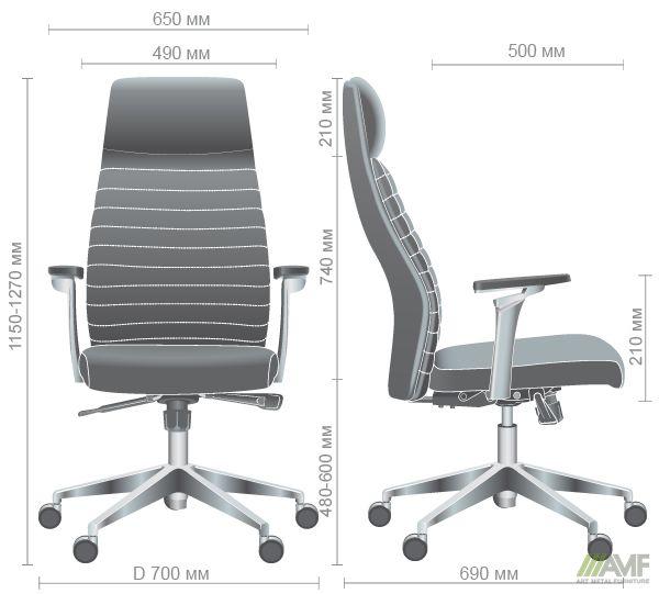 Характеристики Кресло Ilon HB Dark Grey