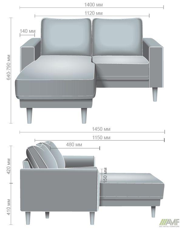 Характеристики Кресло Monet и угловой модуль Багама 35