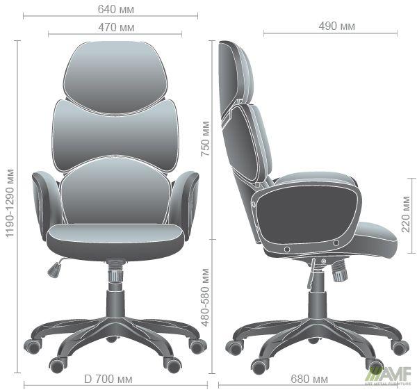 Характеристики Кресло Starship White светло-серый