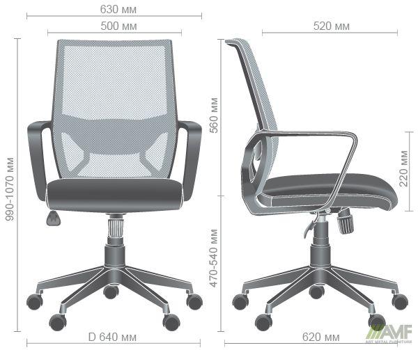 Характеристики Кресло Tin сиденье Саванна nova Black 19/спинка Сетка SL-16 серая
