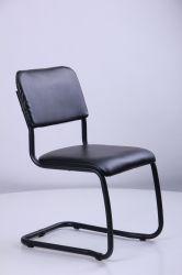 Стул Квест хром Кожзам черный - интерьер - фото 15