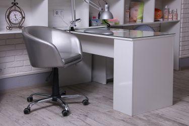 Кресло Дамкар Хром Неаполь N-17 на роликах - интерьер - фото 1