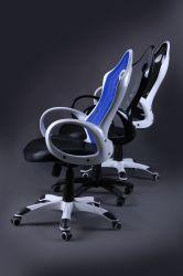 Кресло Матрикс-1 Белый, сиденье Сетка черная/спинка Сетка черная - интерьер - фото 9