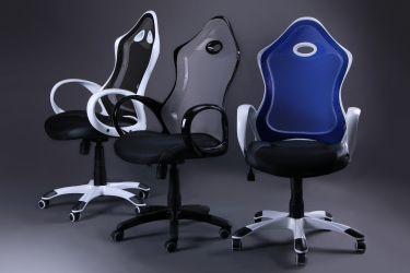 Кресло Матрикс-1 Белый, сиденье Сетка черная/спинка Сетка черная - интерьер - фото 7