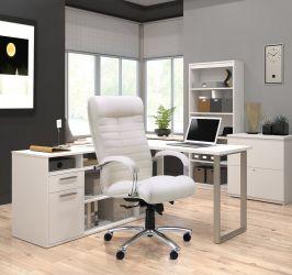 Кресло Орион HB хром Мадрас коньяк - интерьер - фото 1