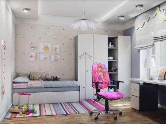 Кресло Бридж Хром Дизайн Дисней Принцессы Аврора - интерьер - фото 1