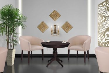 Кресло Велли венге Мадрас дарк Браун - интерьер - фото 5