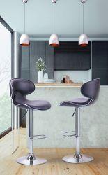 Барный стул Cantal коричневый - интерьер - фото 1