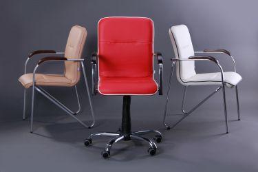 Кресло Самба-RC Хром орех Неаполь N-36 с кантом - интерьер - фото 4