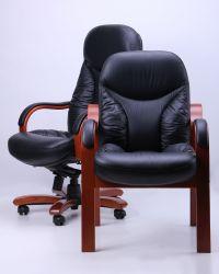 Кресло Буффало LB коньяк Кожа Люкс двухсторонняя Ваниль - интерьер - фото 8