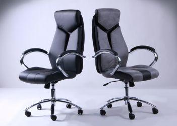 Кресло Прайм Хром Неаполь N-32 вставка Неаполь N-17 перфорир. - интерьер - фото 7