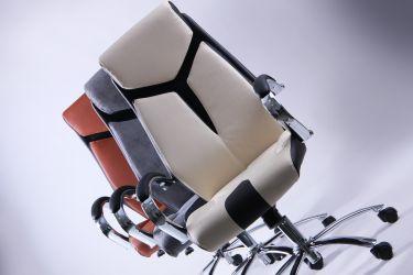 Кресло Прайм MB Хром Неаполь N-20 вставка Неаполь N-20 перфорир. - интерьер - фото 9