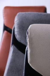 Кресло Прайм MB Хром Неаполь N-20 вставка Неаполь N-20 перфорир. - интерьер - фото 10