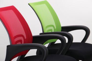 Кресло Веб сиденье Сетка черная/спинка Сетка синяя - интерьер - фото 10