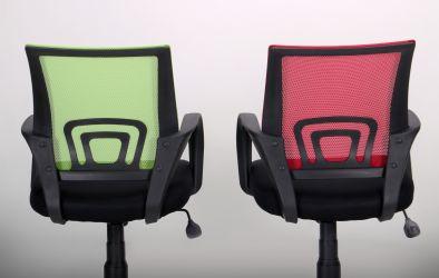 Кресло Веб сиденье Сетка черная/спинка Сетка синяя - интерьер - фото 14