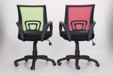 Кресло Веб сиденье Сетка черная/спинка Сетка синяя - интерьер - фото 16