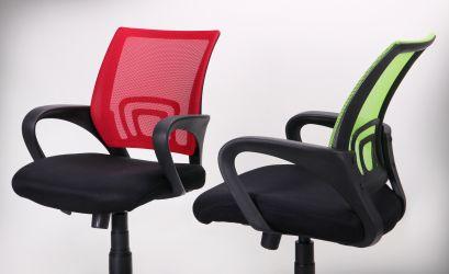 Кресло Веб сиденье Сетка черная/спинка Сетка синяя - интерьер - фото 19