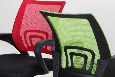 Кресло Веб сиденье Сетка черная/спинка Сетка синяя - интерьер - фото 18