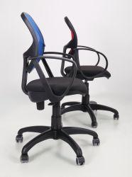 Кресло Бит Color/АМФ-8 сиденье Сетка серая/спинка Сетка оранжевая - интерьер - фото 13