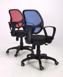 Кресло Байт/АМФ-5 сиденье Сетка черная/спинка Сетка оранжевая - интерьер - фото 16